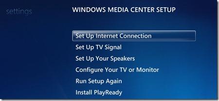 Fix No Internet Access Error Message On Windows Media Center