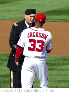 'Raymond T. 'Ray' Odierno, Edwin Jackson' photo (c) 2012, Keith Allison - license: http://creativecommons.org/licenses/by-sa/2.0/