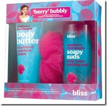 Suds + Butter in Berry Bubbly from Bliss