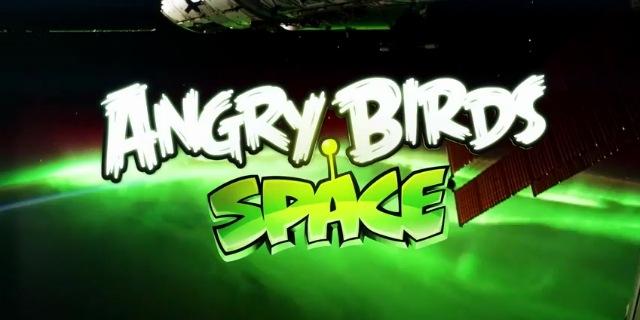 Το Angry Birds Space παρουσιάστηκε… στο διάστημα