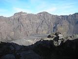 The huge 2km diameter crater of Gunung Raung (Daniel Quinn, July 2011)