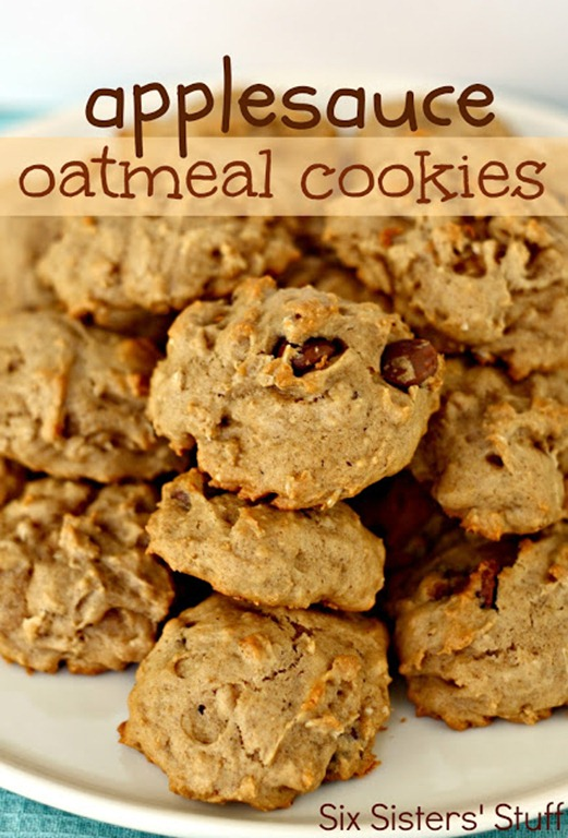 applesauce oatmeal cookies