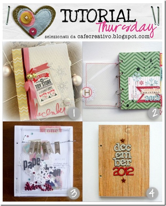cafecreativo- tutorial December Daily mini album