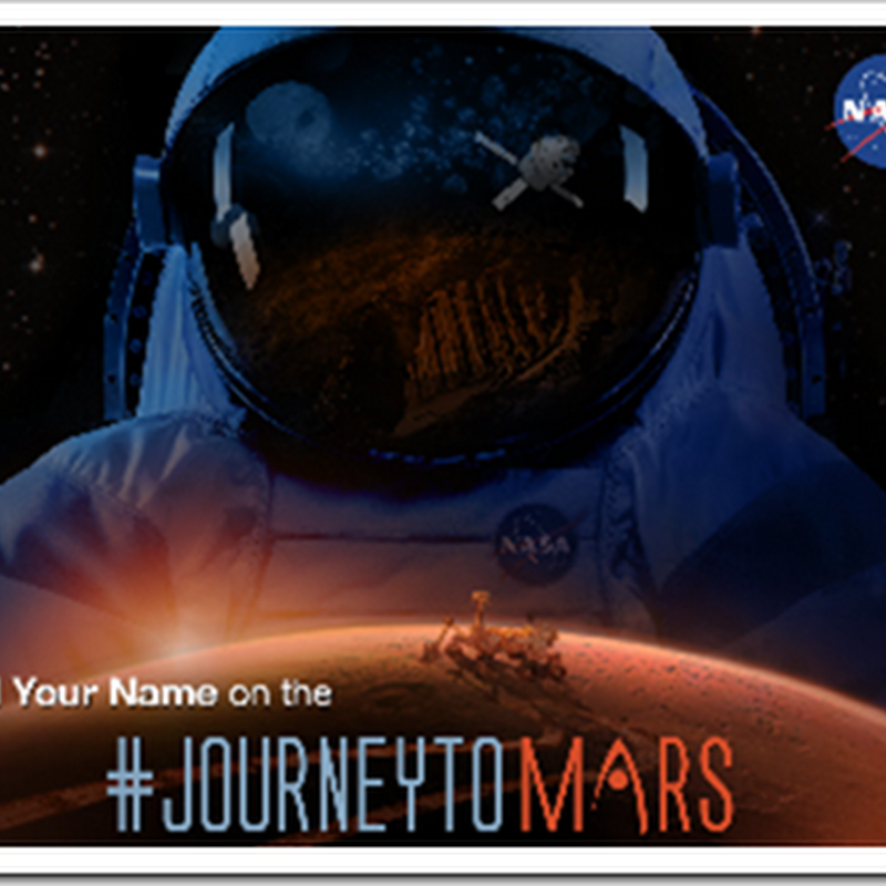 I am off to the Red Planet! Okay, my name is anyway (again). And so can yours...