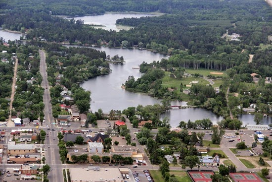 View of Park Rapids