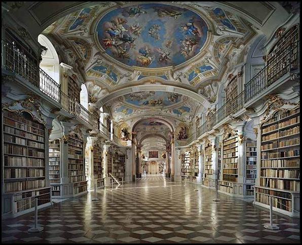 Bibliothèque de l'abbaye bénédictine d'Admont, Autriche