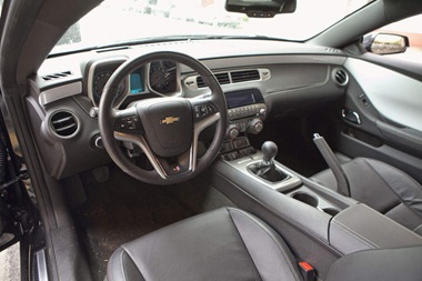 2012-Chevrolet-Camaro-Interior