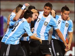 Argentina vs Tunes Sub 17