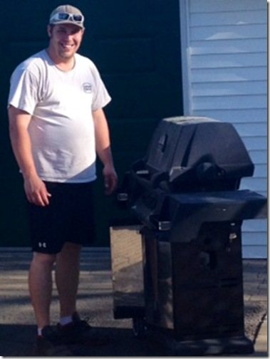 Ry with old bbq