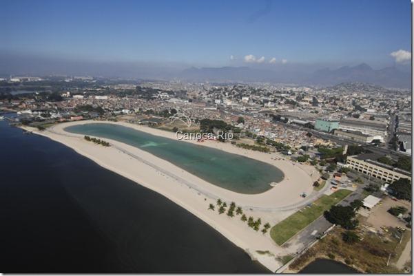 Popular praia da zona norte do Rio, Piscinão de Ramos reabre ao público na próxima quarta-feira