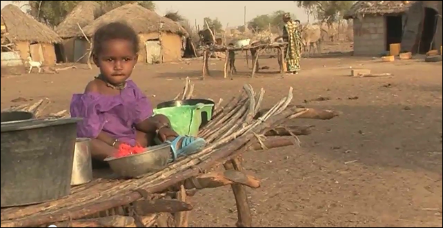 A child who lives in the Sahel region of Africa. On 4 February 2014, the UN and partner humanitarian groups called on the international community to spend $2 billion to avoid a famine in Africa's Sahel region, which includes nine nations along the southern edge of the Sahara. Photo: OCHA