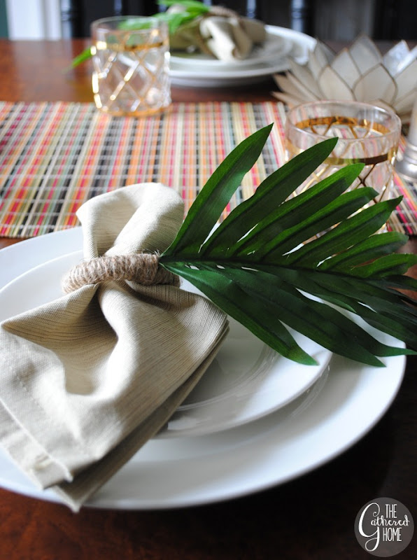 zara home knockoff leaf napkin rings13