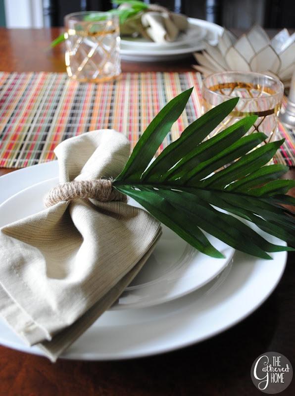 zara home knockoff leaf napkin rings13