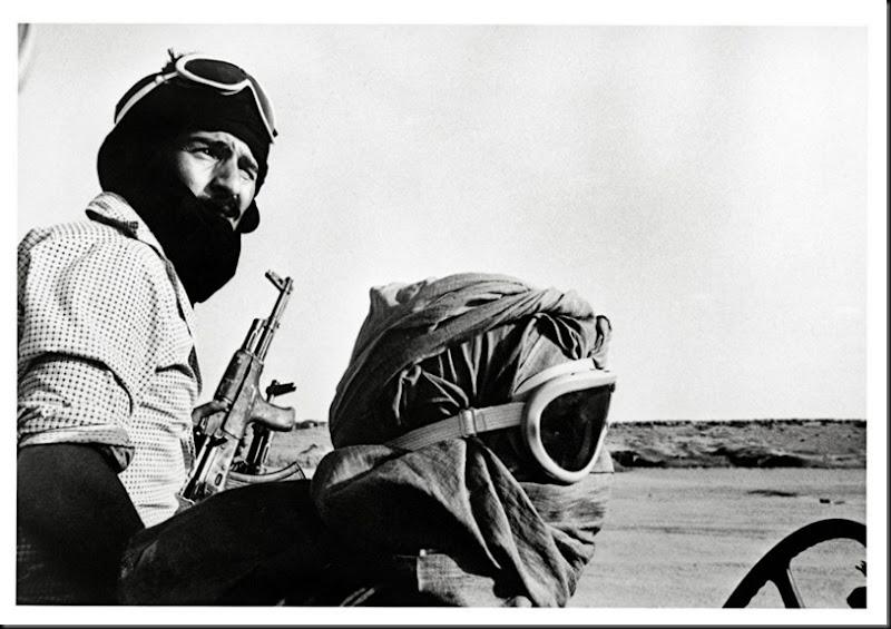 Fronte Polisario soldati. Sahara occidentale, nel mese di ottobre 1981