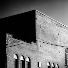 Red Brick School Lewiston, NY #windowwednesday by +Jules Falk Hunter +Simon Davis-Oakley +Cheryl Cooper +Jason Kowing & +J.J. Bentley  #monochromeworld #monochromeartyclub #allthingsmonochrome    #10000photographersbwmonochrome #pixelworld   #blackandwhitephotography   #blackandwhite   #monochrome