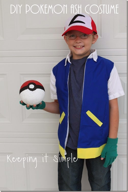 DIY Pokemon Ash Costume