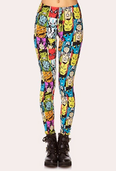 Marvel Leggings from Forever21
