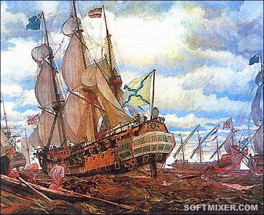 Флот Петра Великого