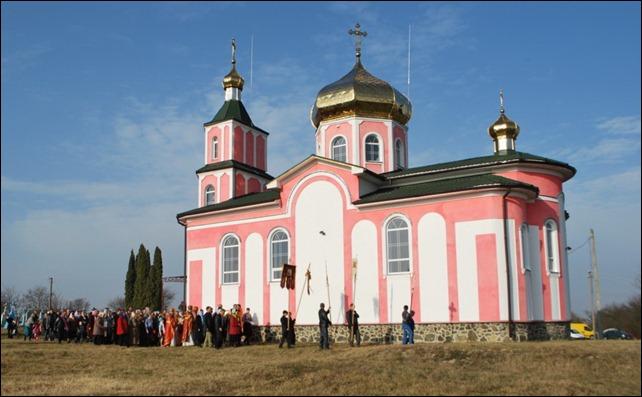 Престольне свято відсвяткували у селі Вишнів Ківерцівскього благочиння
