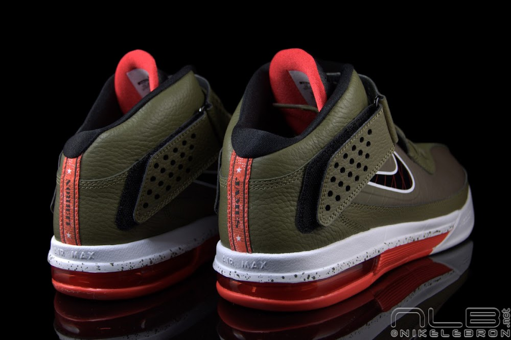 the showcase nike air max soldier v 5 quotiguanaquot nike