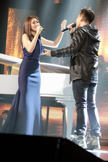 Sarah Geronimo and Jason Dy perform If I Ain't Got You