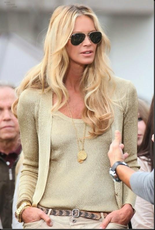 la modella mafia Elle Macpherson golden