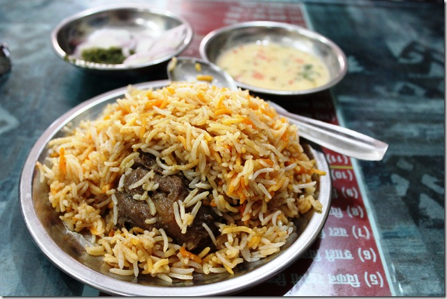 The lucknowi biryani pilgrimage wahid s lalla s open for Awadhi cuisine kolkata