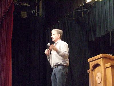 Bruce Vincent at the Washington High School