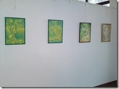 Iubirea in diverse ipostaze din poeziile lui Mihai Eminescu, picturi expuse in Herastrau, galeria AAP