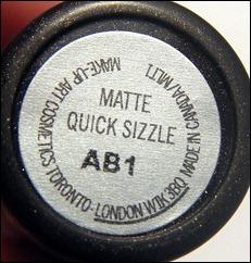 MAC Quick Sizzle