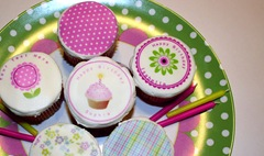 Edible Cupcake Toppers