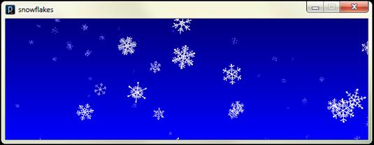 snowfalkes