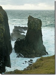 butt of lewis sea stack