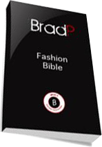 Cover of Brad P's Book Brad Fashion Bible