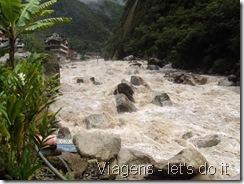 Rio Urubamba em Aguas Calientes