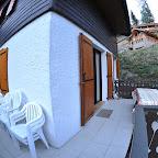 chalet l'orée du bois - Balcon et terrasse