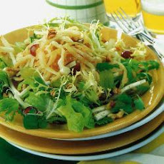 Hot Cabbage And Grape Coleslaw