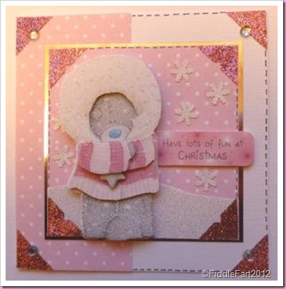 Pink Tatty Teddy Card