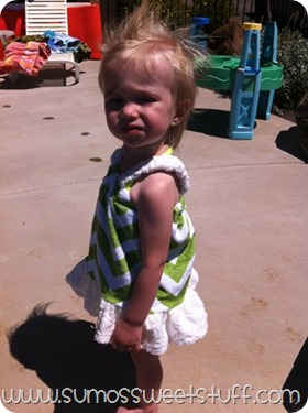 Sumo's Sweet Stuff - Swimsuit Cover Up #sewing