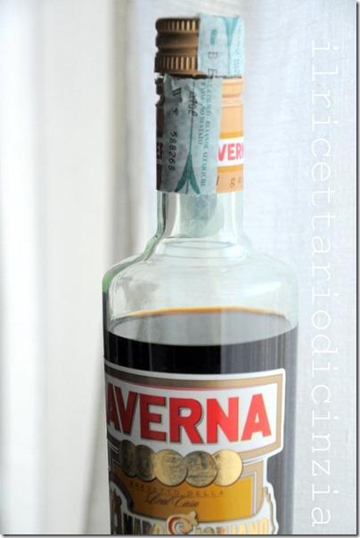 Risotto all' Amaro Averna melograna e gongorzola con riduzione di Amaro