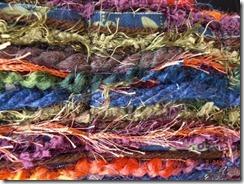 multicolor scrappy scarf