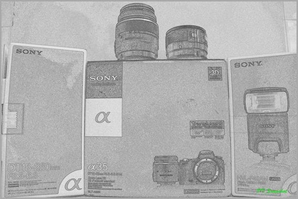 Sony Alpha 35 set