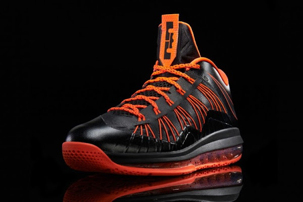 Release Reminder Nike Air Max LeBron X Low BlackTotal Crimson