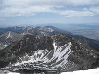 south from Wheeler Peak Photo