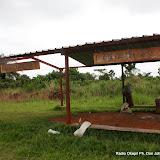 – Hangar des passagers à l'aérodrome de Loukolela en République du Congo. Radio Okapi/ Ph. John Bompengo