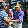 Senator Ball Tours Mt Kisco Sidewalk Fair September 10, 2012