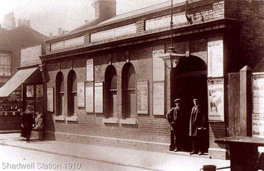 Shadwell Station 1910