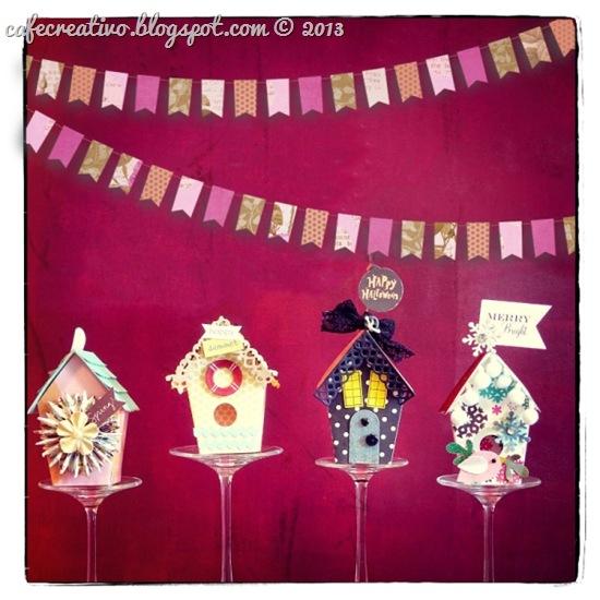 cafe-creativo - big shot - birdhouse Anna Draicchio