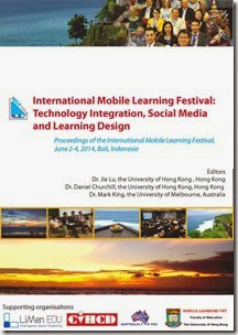 頁面擷取自-Proceeding of International Mobile Learning Festival 2014 Bali
