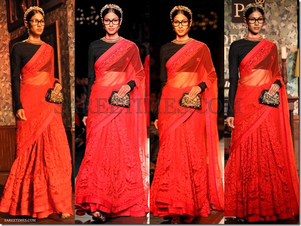 Sabyasachi_Red_Saree